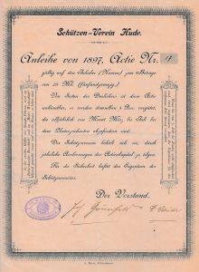 Schützenverein Hude Aktie Nr. 17