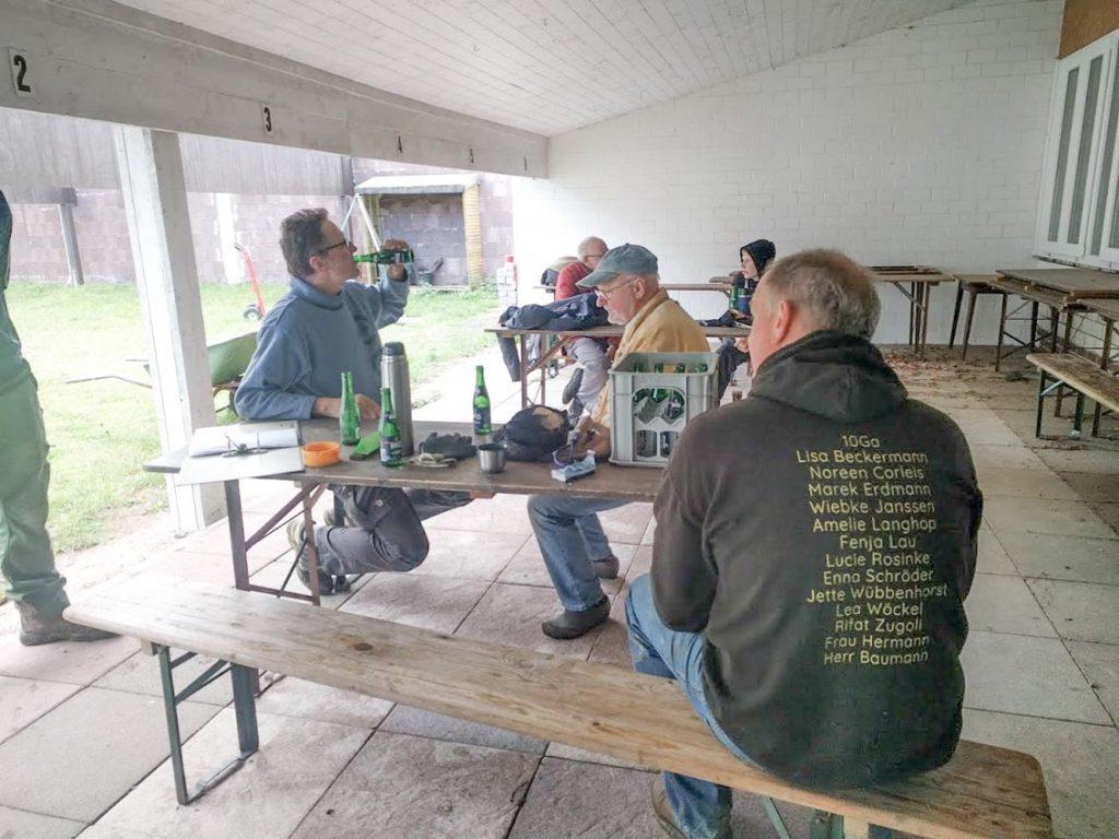 Bogensport-Schuetzenverein-Hude-Pause-bei-Modernisierungsarbeiten
